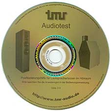 TMR Audiotest CD